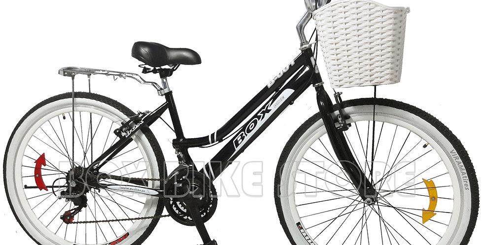 Bicicleta Montañera Aro 26 Modelo 2019- Negro