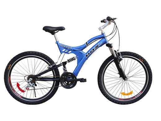 Bicicleta Box Zeus Aro 26 Doble Amortiguador