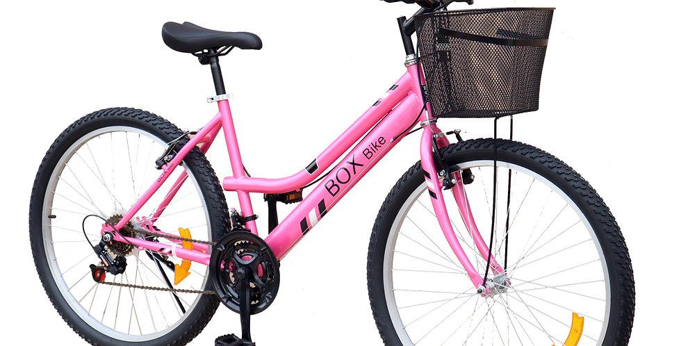 Bicicleta Box Bike Mtb para Dama Aro 26 - Fucsia