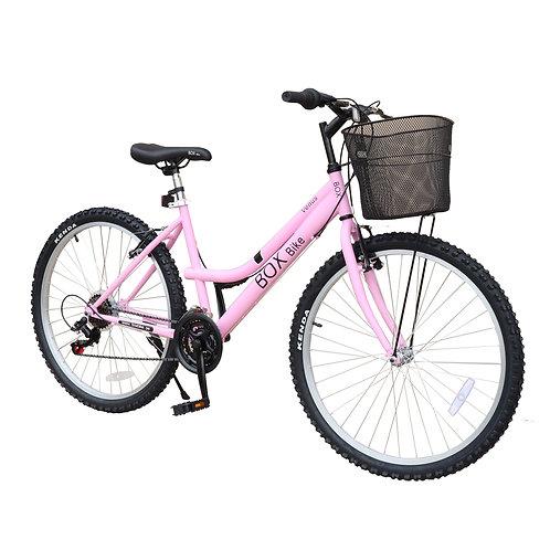Bicicleta Box Bike MTB para Dama con Shimano Aro 26 - Rosado