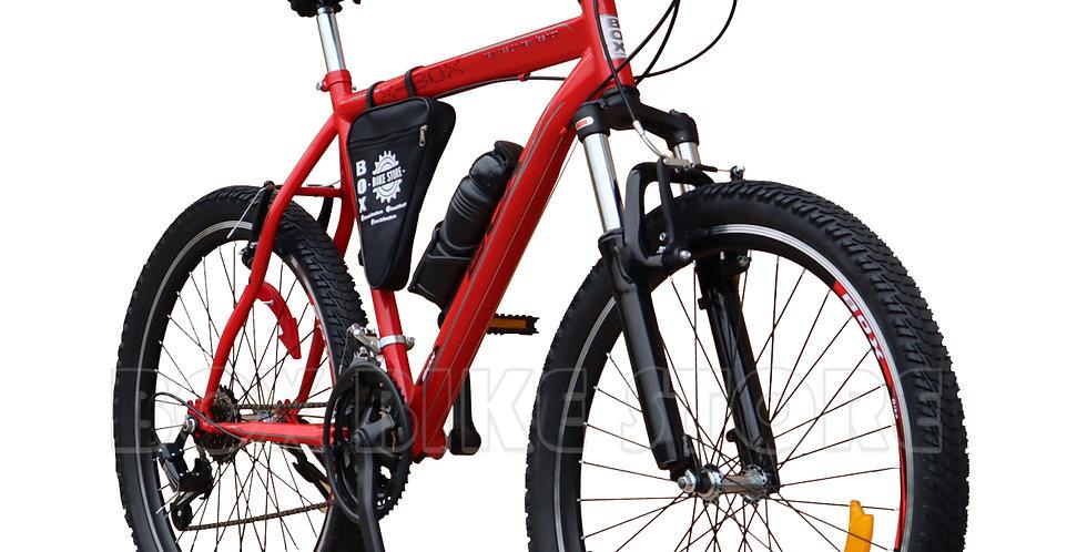 Bicicleta Box Bike Modelo Elite Aro 26 - Full Shimano Rojo