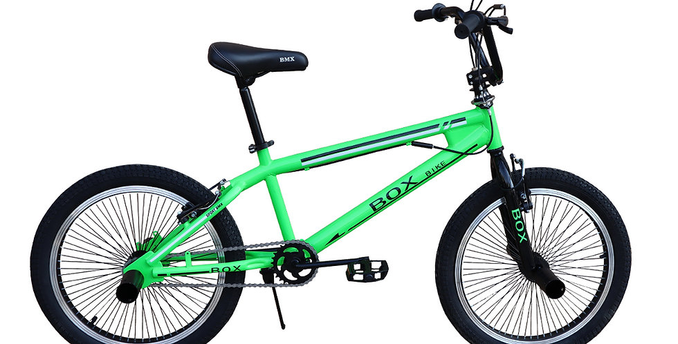 Bicicleta BMX 2021 con Aros Triple Pared Aro 20 - Verde
