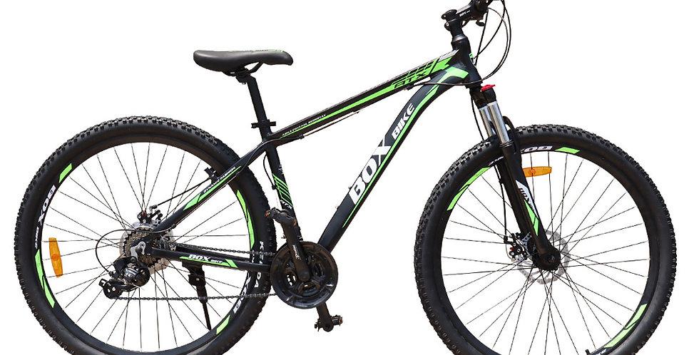 Bicicleta Box Bike MTB 2021 de Aluminio Aros 27.5 y 29 - Negro con Verde