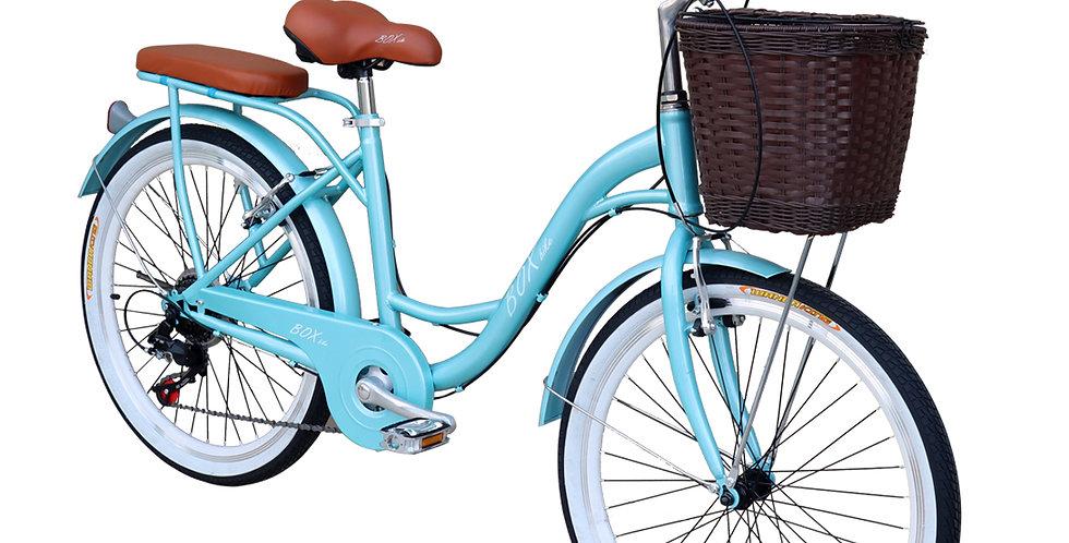 Bicicleta Vintage Box Bike Aros 24 y 26 - Verde