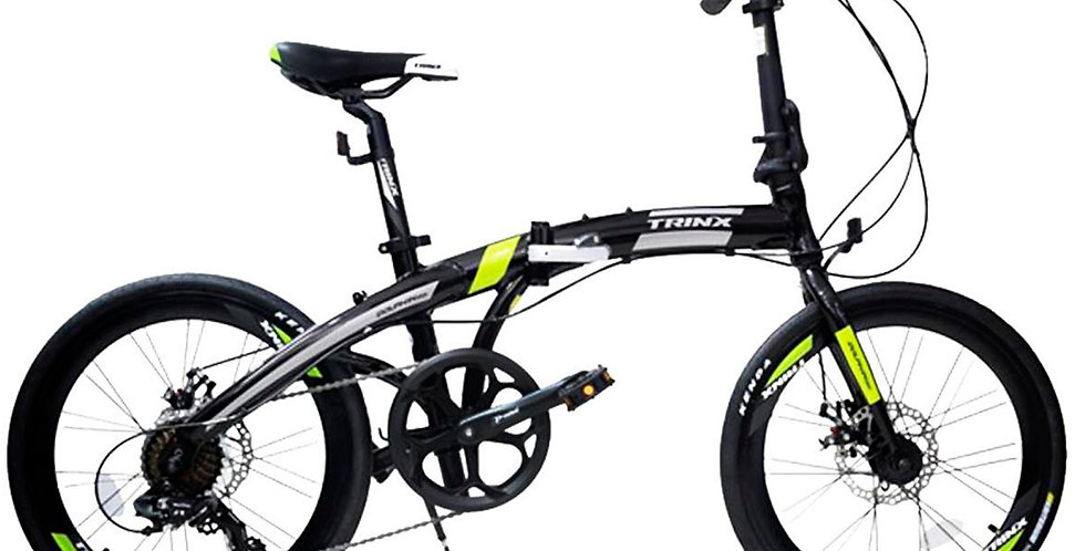 Bicicleta Plegable de Aluminio Modelo Italiano - 2019