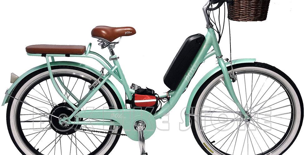 Bicicleta Eléctrica Modelo Vintage - Cadena De Seguro Gratis