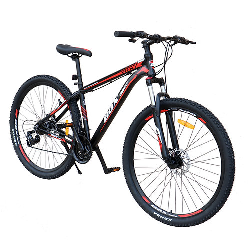 Bicicleta Box Bike MTB 2021 de Aluminio Aros 27.5 y 29 - Negro con Rojo