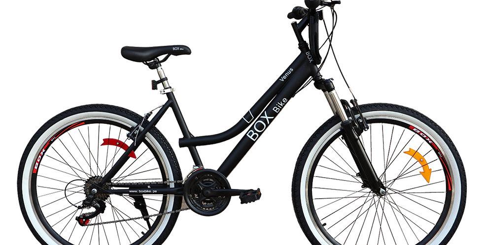 Bicicleta Box Bike MTB Con Suspensión Delantera con Shimano Aro 26 - Negro