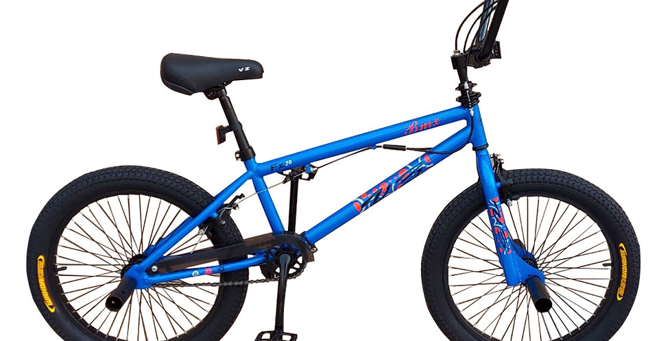 Bicicleta Box Bike BMX Semi Profesional Aro 20 - Azul