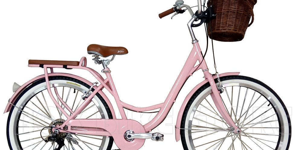Bicicleta Vintage Box Bike 2020 - Rosado