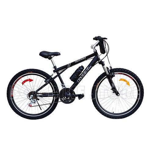 Bicicleta Box Bike MTB Aro 26 con Suspensión Delantera - Negro Entero