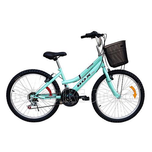 Bicicleta Box Bike Campera Aro 24 - Verde