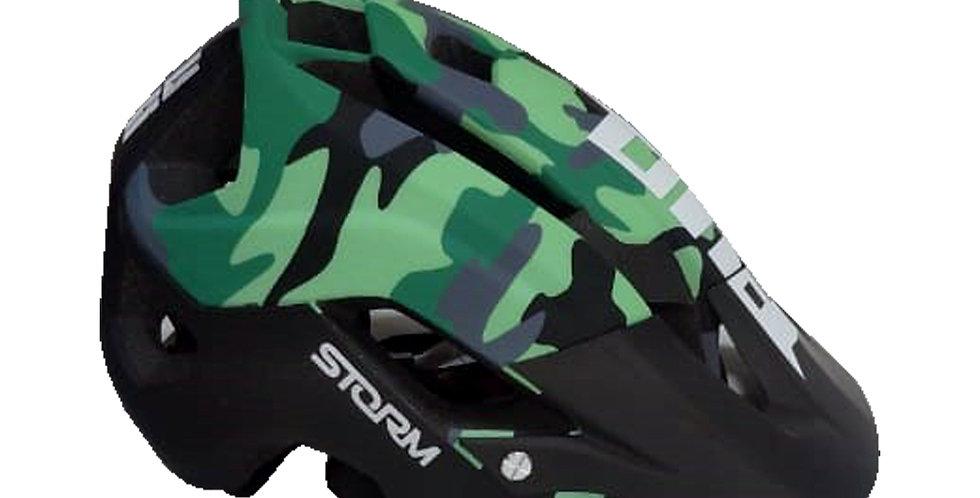 Casco para Ciclista Certificado - Estampado Militar
