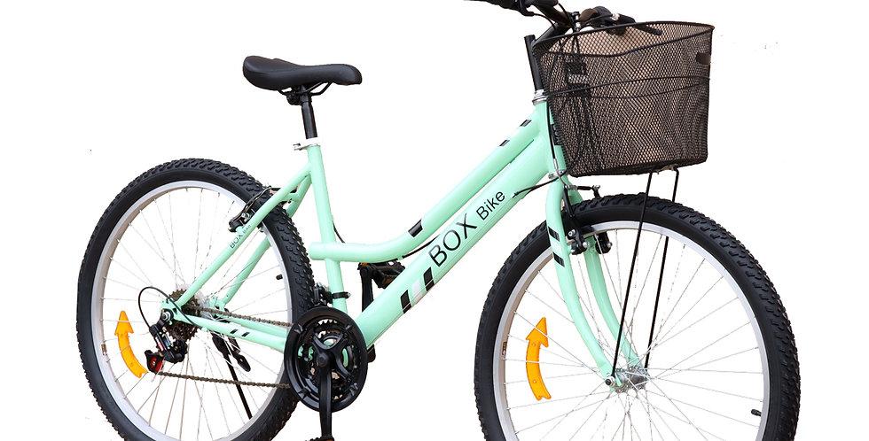 Bicicleta Box Bike Mtb para Dama Aro 26 - Verde