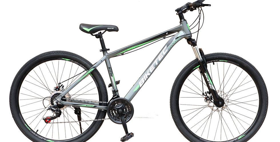 Bicicleta de Aluminio Modelo Biketec Aro 27.5 - Gris