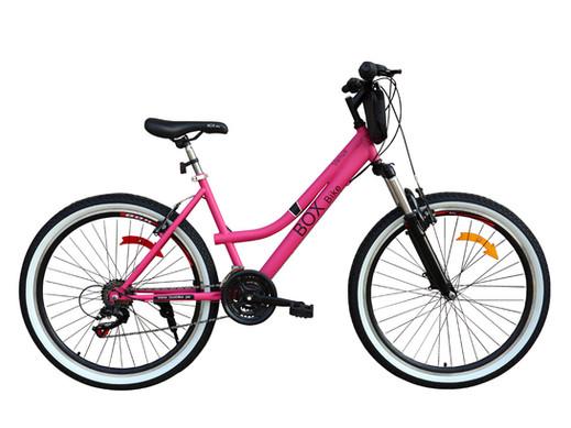Bicicleta Box Bike MTB Con Suspensión Delantera con Shimano Aro 26