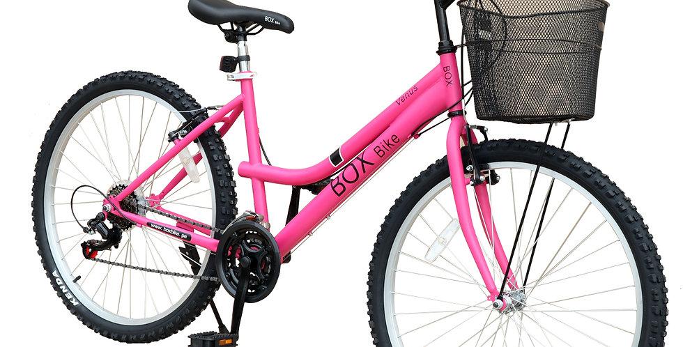 Bicicleta Box Bike MTB para Dama con Shimano Aro 26 - Fucsia