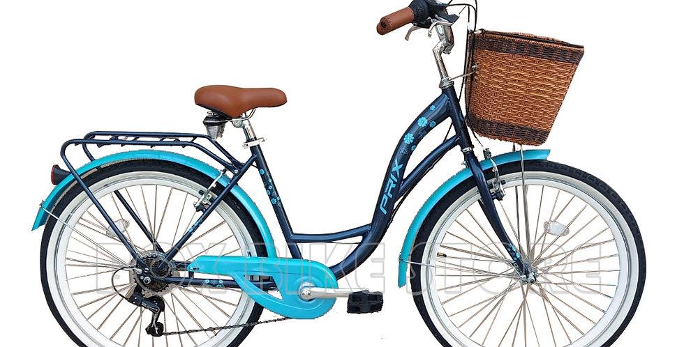 Bicicleta Modelo Vintage Aros 26 - Azul