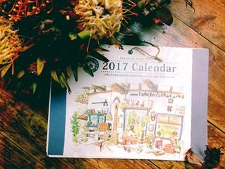 2017年版カレンダー&ポストカード販売開始