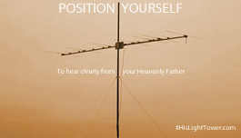 BE AN AERIAL - POSITION YOURSELF
