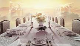 VISION OF BANQUETING TABLES- WHO ARE YOU FEEDING?