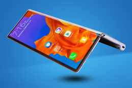 A Folding Smart Phone?
