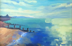 50 Neringa Paulauskyte Eastbourne seafront