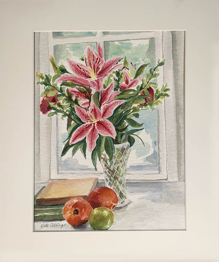 95 Kate Collings Pink Lillies