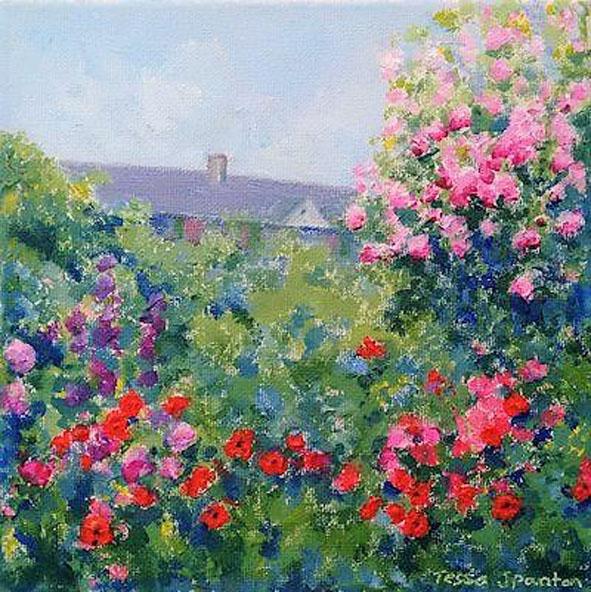 85 Tessa Spanton Monets Garden