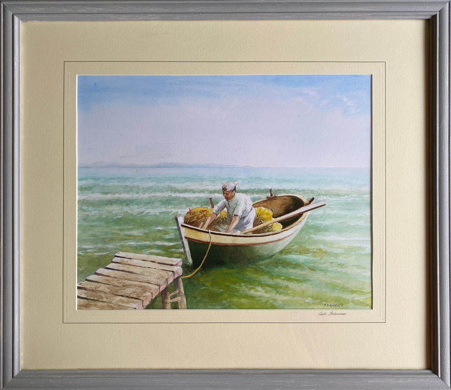 17F Fred Gillespie Corfu Fisherman