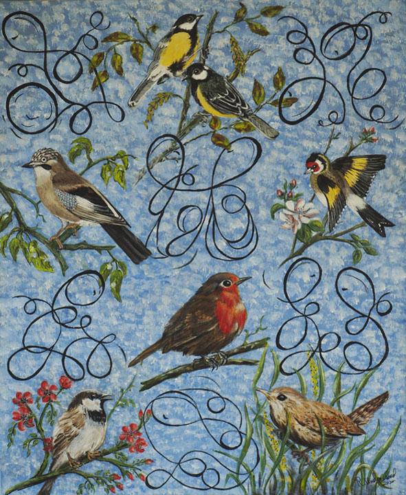 68 Rachel Underwood Lockdown with Birds
