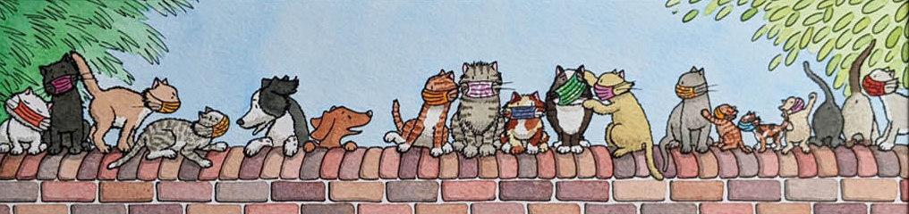 56 Penny Haynes Lockdown Cats The Unmasked Marauders