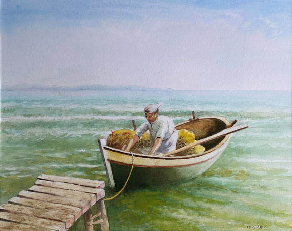 17 Fred Gillespie Corfu Fisherman