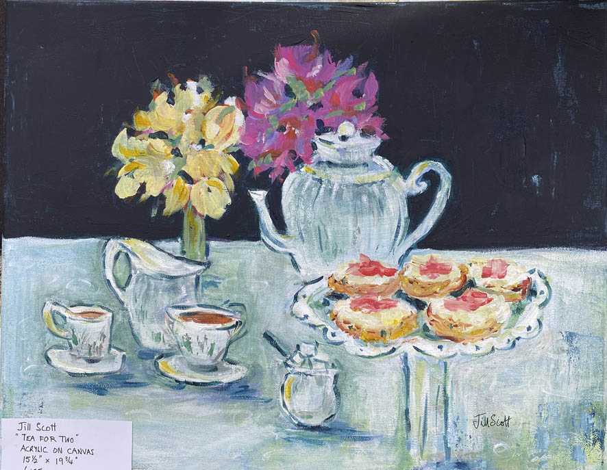 36 Jill Scott Tea for Two Acrylic 406x50