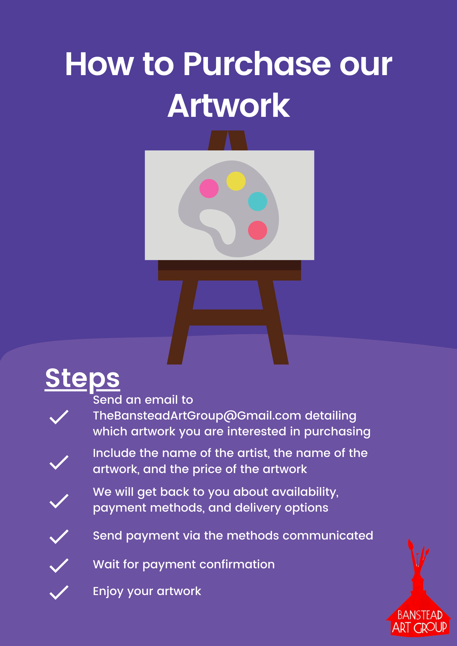 How to Purchase our Artwork