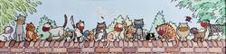 54 Penny Haynes  Lockdown Cats Ladybird Watchers