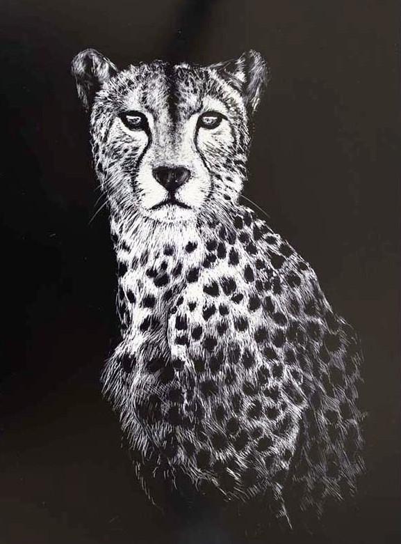 43 Mike Fleming Leopard