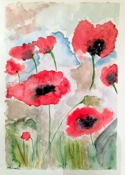 93 Anthea Silvester Poppies