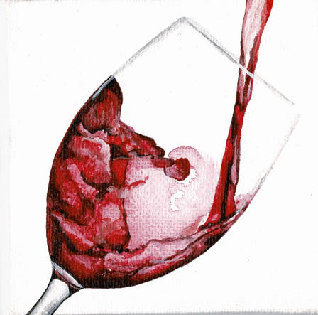 76 Sophie Knight Wine Glass Acrylic 100x