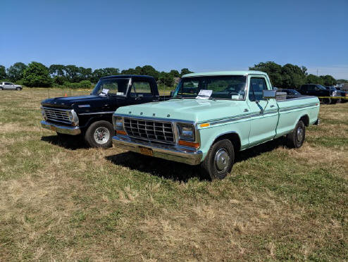 Pair of Ford pickups