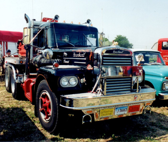 1967 Brockway tractor from Connecticut