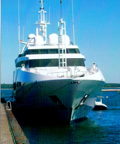 The chapter's yacht (I wish)
