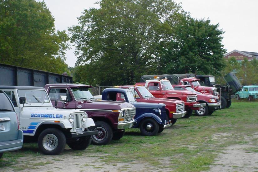 Members trucks at the LIRR Museum