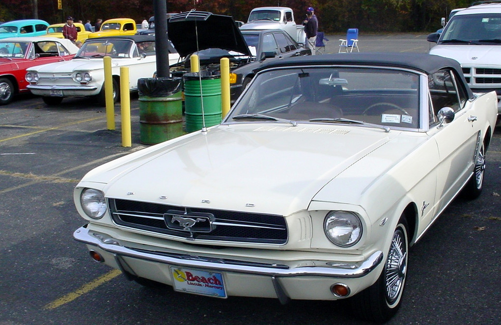 1964-65 Mustang convertible