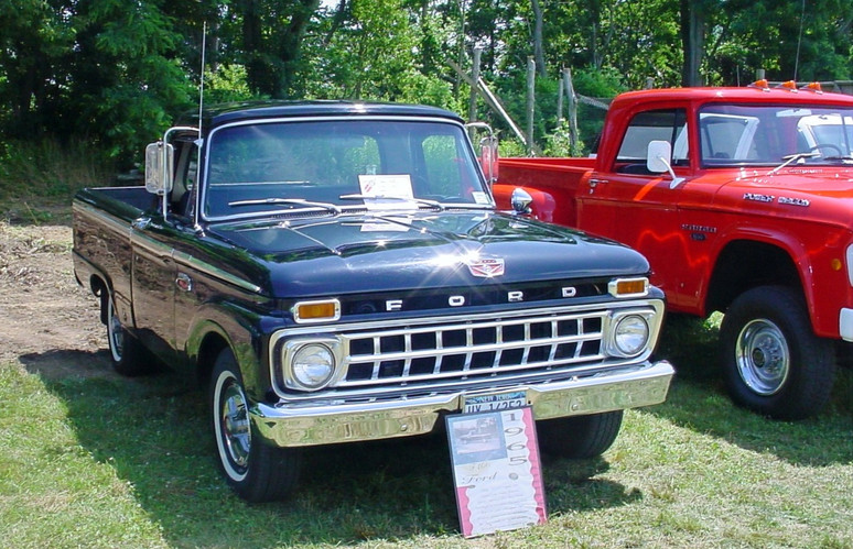 Brent Robedee's 1965 Ford F-100 pickup