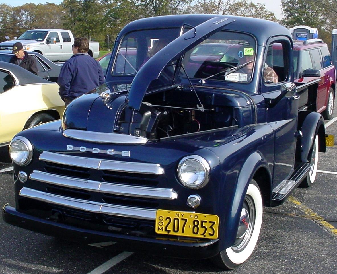 Robert Mayer's 1949 Dodge pickup