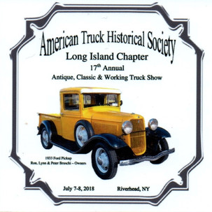 2018 Chapter Truck Show Dadh Plaque 34 Remaining - .50ea.