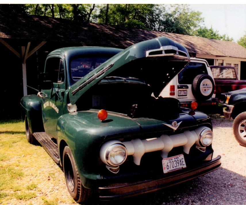 1951 Ford F-1 pickup - Ron Bush