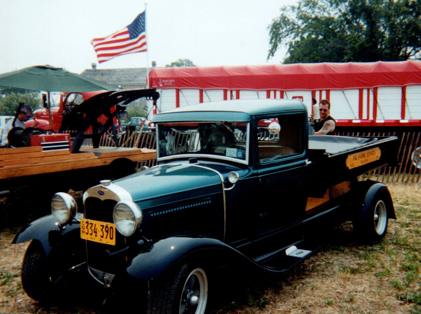 1931 Ford Model A dump - William Roe