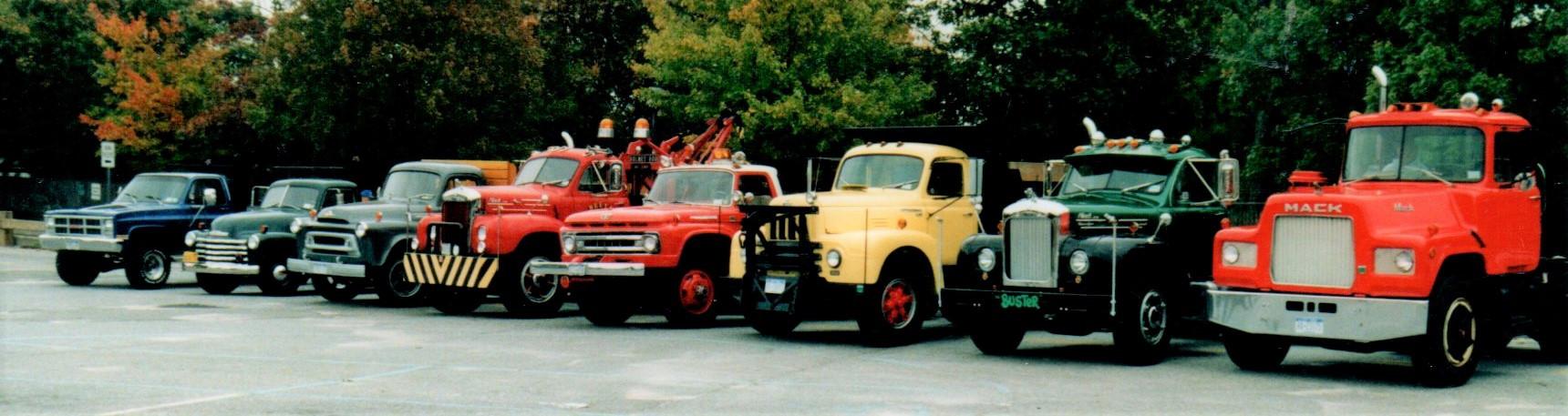 Member's truckson the run